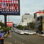 Greve geral no Paraguai faz o comércio de Ciudad Del Este fechar suas portas