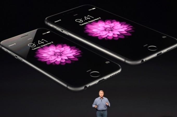 Evento de lançamento de produtos Apple nos EUA.