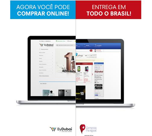 Compre online no Paraguai através do ByDubai