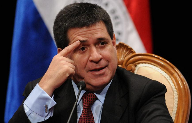 Presidente do Paraguai, Horácio Cartes