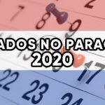 Feriados no Paraguai – Calendário 2020